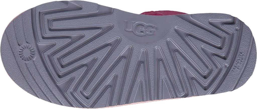 Children's UGG Bailey Bow II Kids Boot, Pink Azalea/Icelandic Blue Twinface, large, image 6