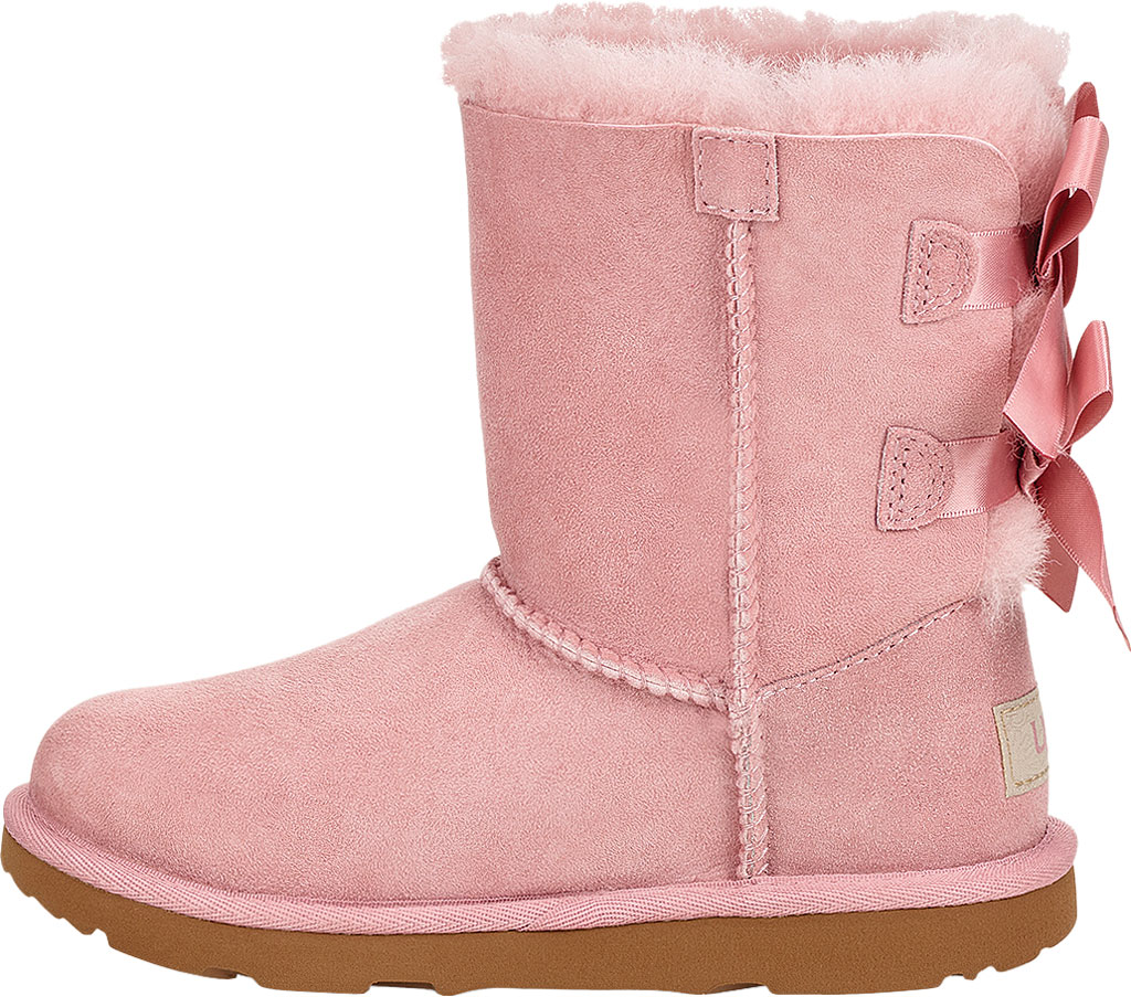 Children's UGG Bailey Bow II Kids Boot, Pink Crystal Twinface Sheepskin, large, image 3