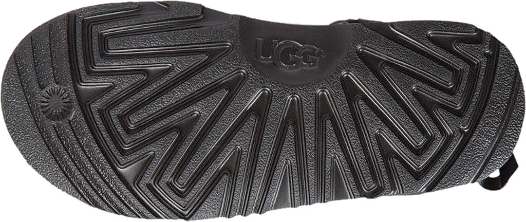Children's UGG Mini Bailey Bow II Kids Boot, Black Twinface, large, image 6