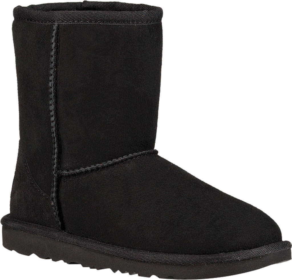Children's UGG Classic II Kids Boot, Black Twinface, large, image 1