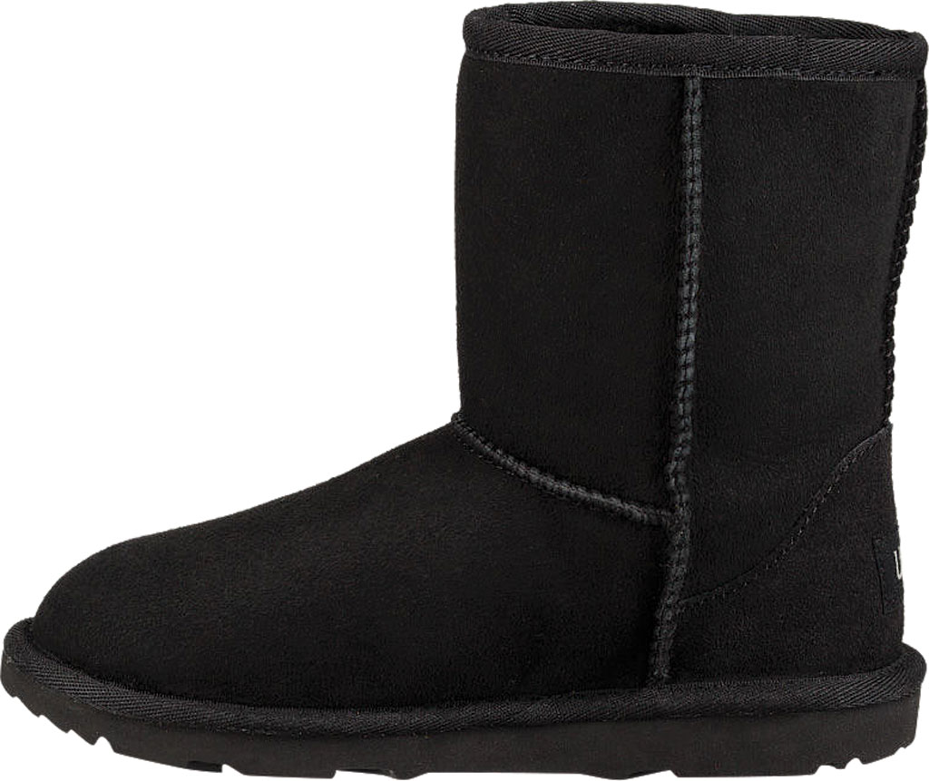 Children's UGG Classic II Kids Boot, Black Twinface, large, image 3