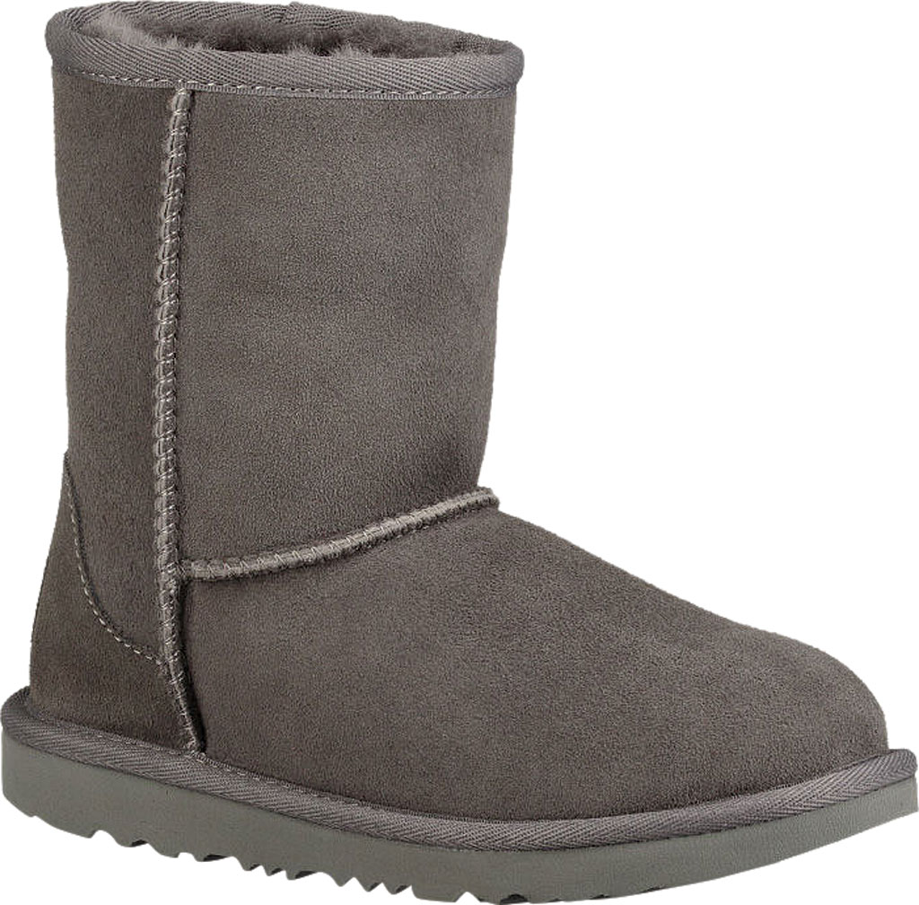 Children's UGG Classic II Kids Boot, Grey Twinface, large, image 1