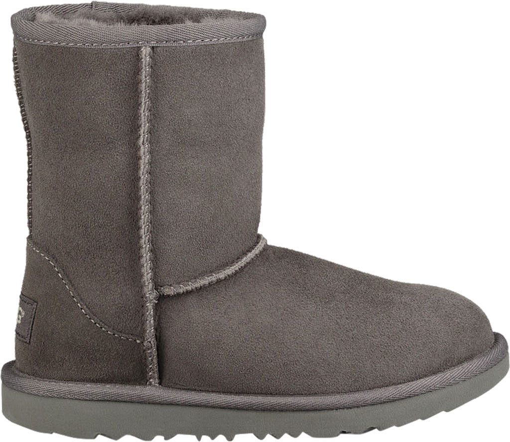 Children's UGG Classic II Kids Boot, Grey Twinface, large, image 2