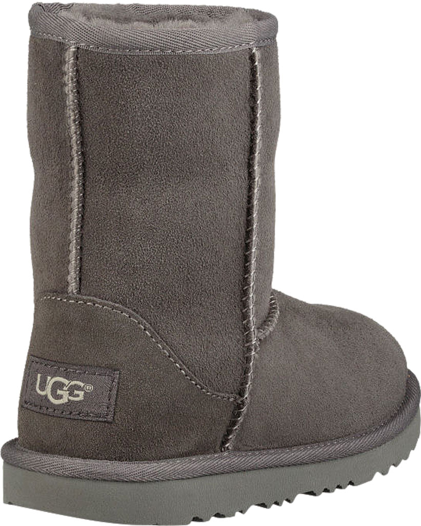 Children's UGG Classic II Kids Boot, Grey Twinface, large, image 4