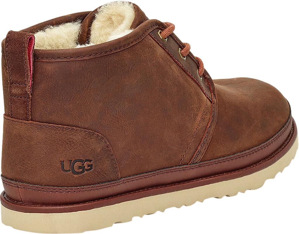 Men's UGG Neumel Waterproof Chukka Boot, Chestnut Full Grain Leather, large, image 4