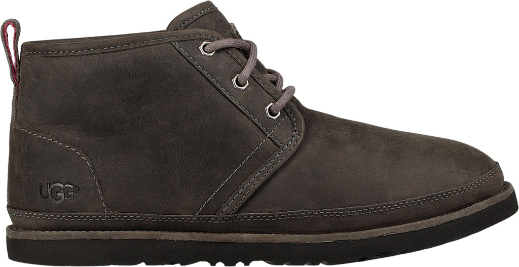 Men's UGG Neumel Waterproof Chukka Boot, Charcoal Full Grain Leather, large, image 2