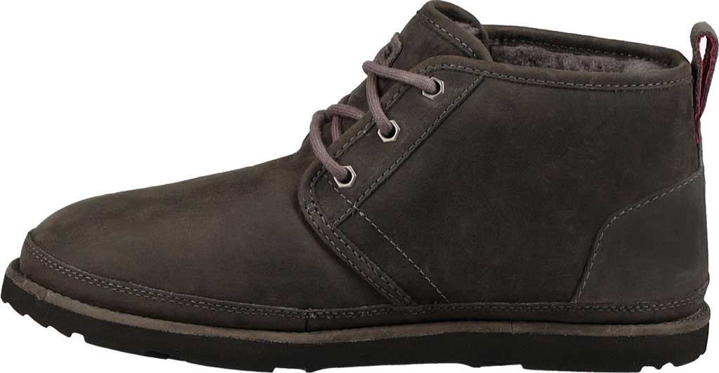 Men's UGG Neumel Waterproof Chukka Boot, Charcoal Full Grain Leather, large, image 3