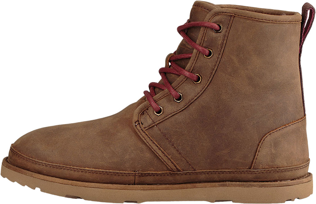 Men's UGG Harkley Waterproof Ankle Boot, Grizzly Full Grain Leather, large, image 3