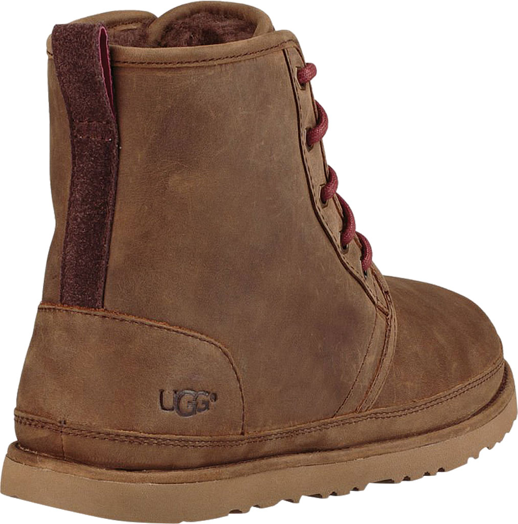 Men's UGG Harkley Waterproof Ankle Boot, Grizzly Full Grain Leather, large, image 4