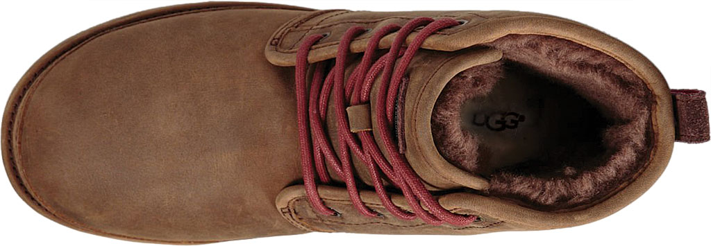 Men's UGG Harkley Waterproof Ankle Boot, Grizzly Full Grain Leather, large, image 5
