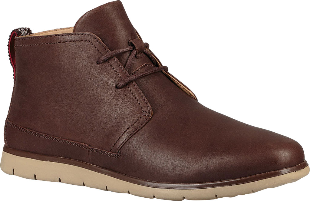 New Men's UGG Freamon Waterproof Chukka Boot Shoe and Boot, Grizzly Full Grain Leather