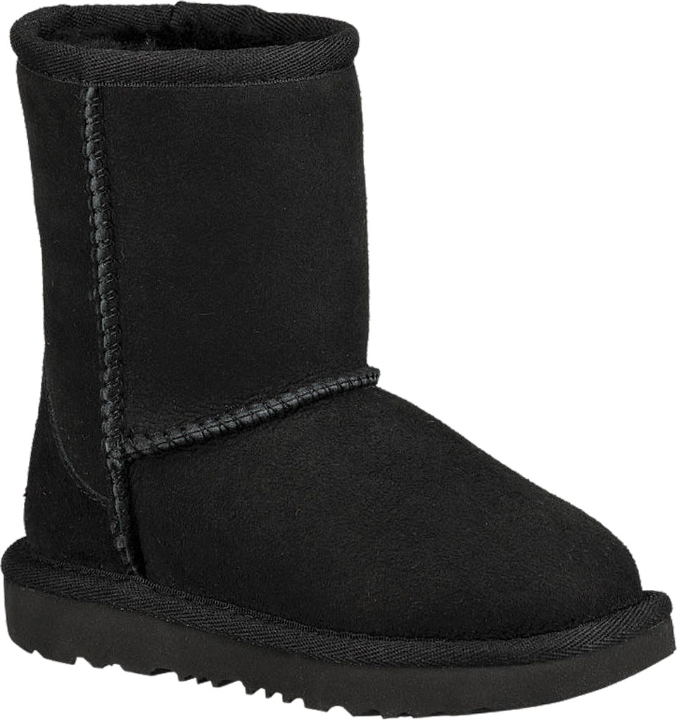 Infant UGG Classic II Toddlers Boot, Black Twinface, large, image 1