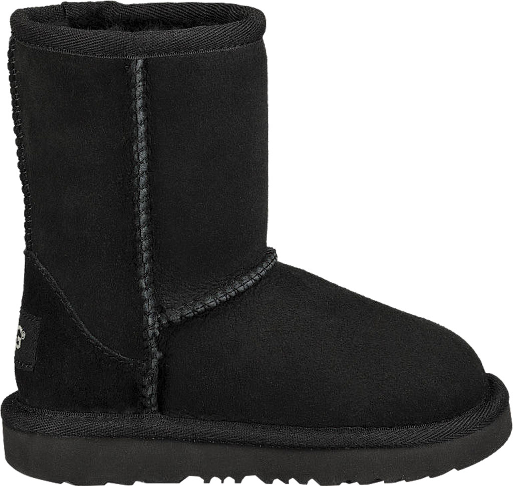 Infant UGG Classic II Toddlers Boot, Black Twinface, large, image 2