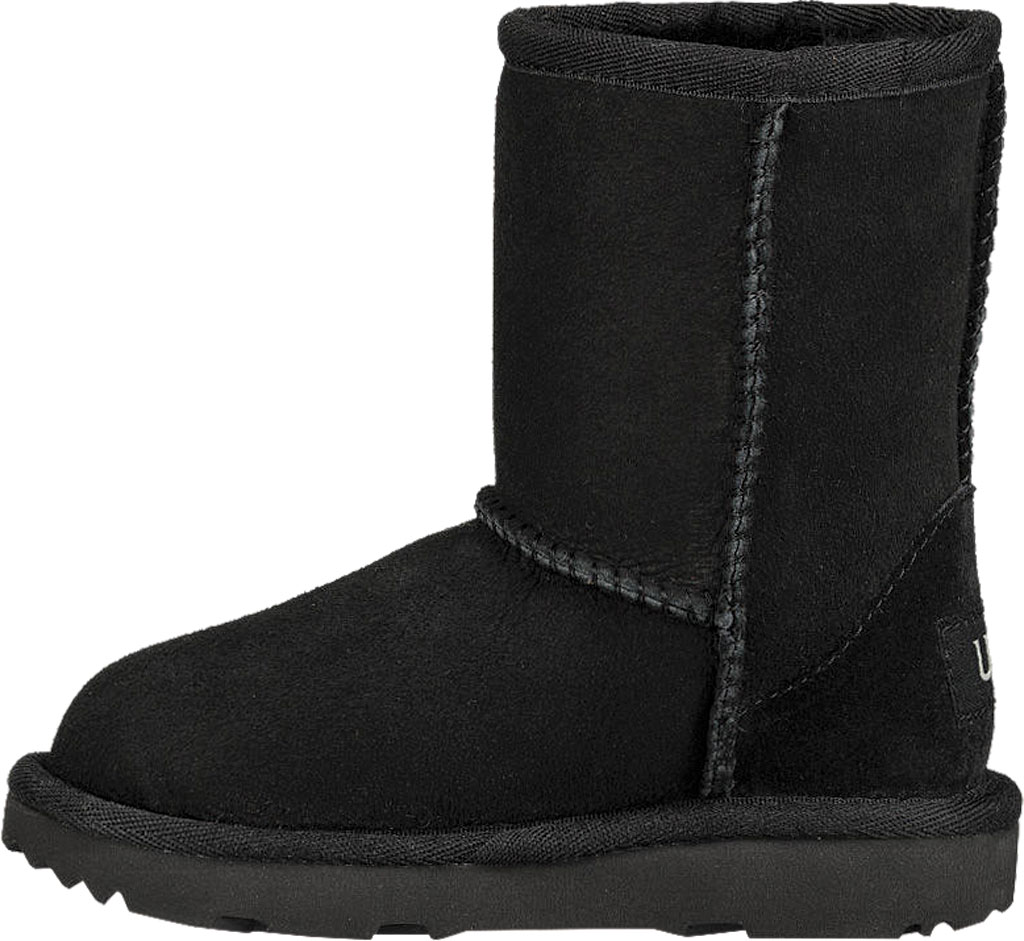 Infant UGG Classic II Toddlers Boot, Black Twinface, large, image 3