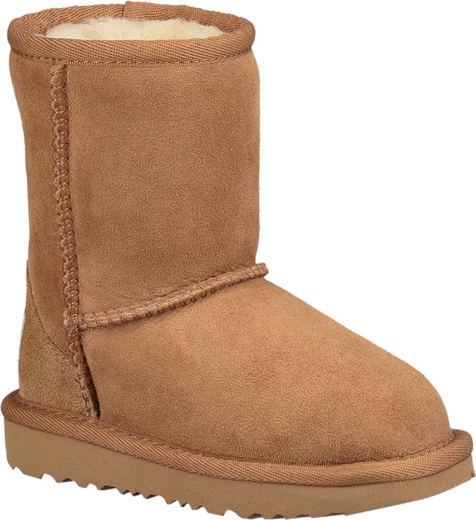 Infant UGG Classic II Toddlers Boot, Chestnut Twinface, large, image 1
