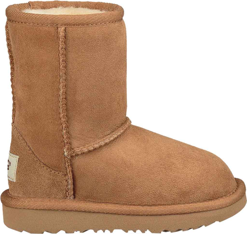 Infant UGG Classic II Toddlers Boot, Chestnut Twinface, large, image 2