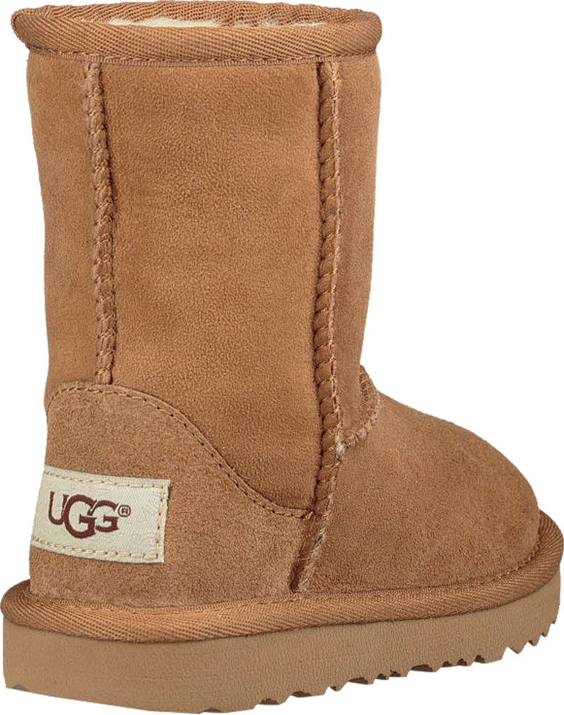 Infant UGG Classic II Toddlers Boot, Chestnut Twinface, large, image 4