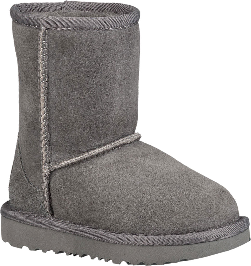 Infant UGG Classic II Toddlers Boot, Grey Twinface, large, image 1