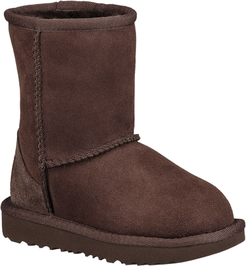 Infant UGG Classic II Toddlers Boot, Chocolate Twinface, large, image 1