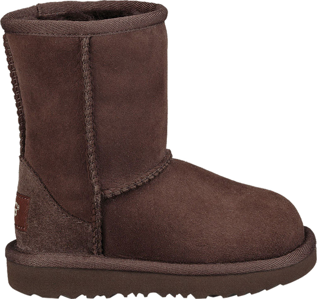 Infant UGG Classic II Toddlers Boot, Chocolate Twinface, large, image 2
