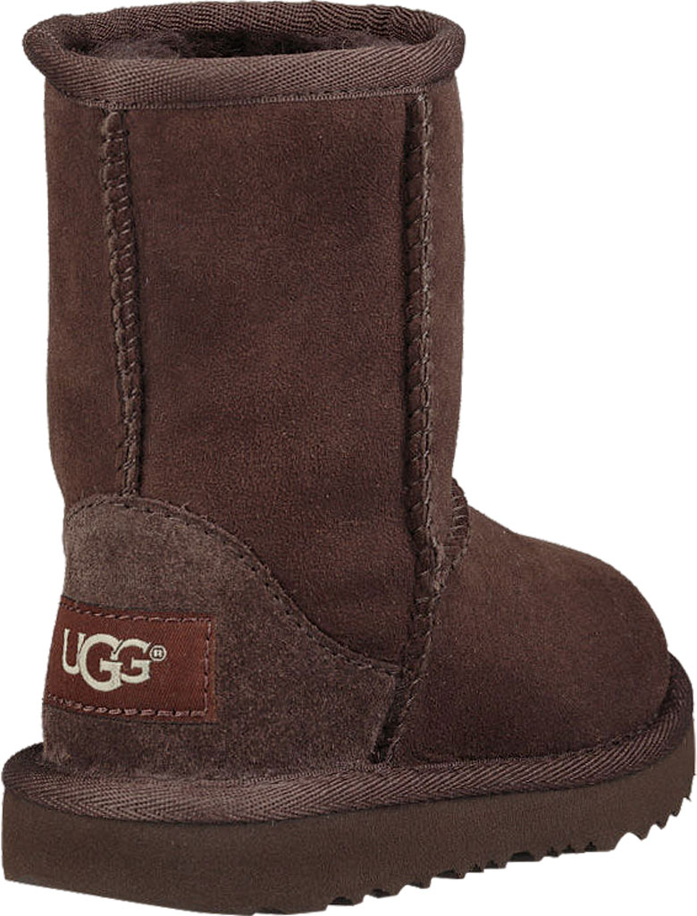 Infant UGG Classic II Toddlers Boot, Chocolate Twinface, large, image 4