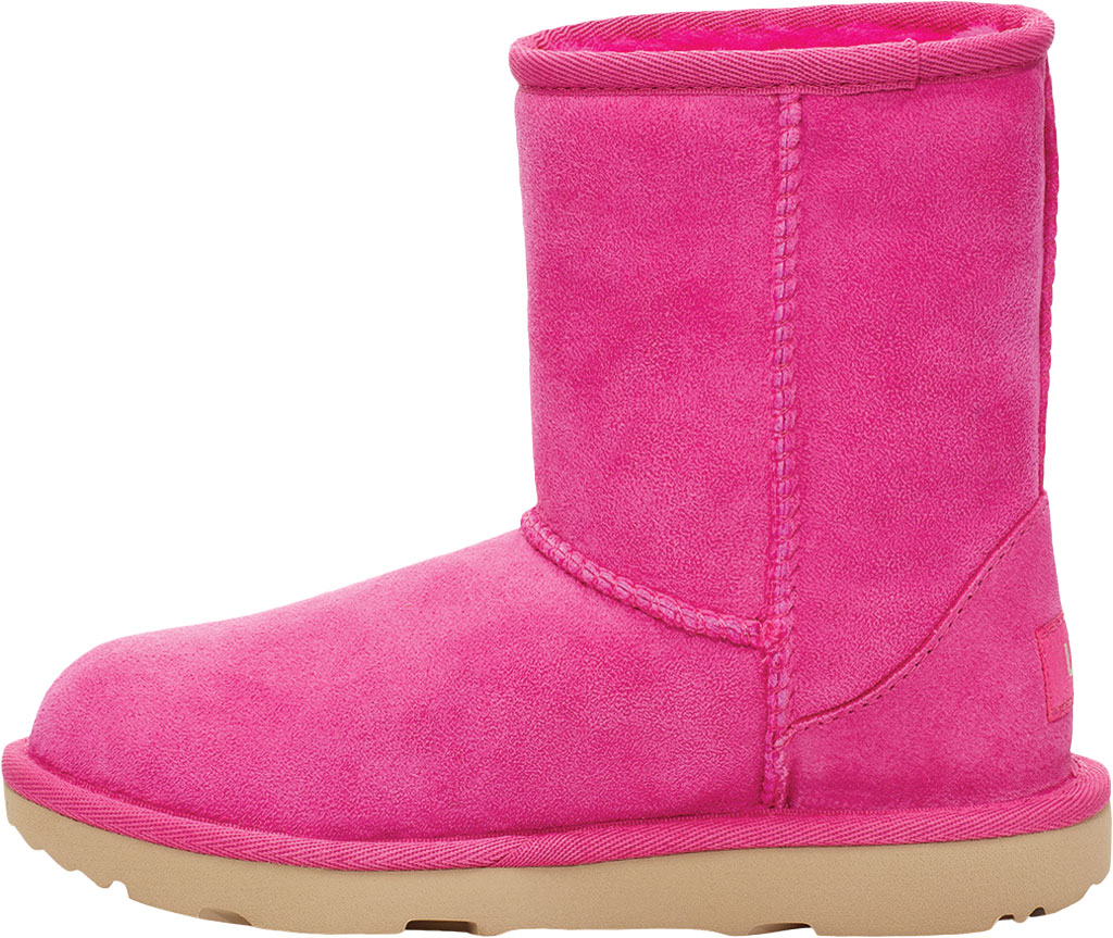 Infant UGG Classic II Toddlers Boot, Rock Rose Twinface Sheepskin, large, image 3