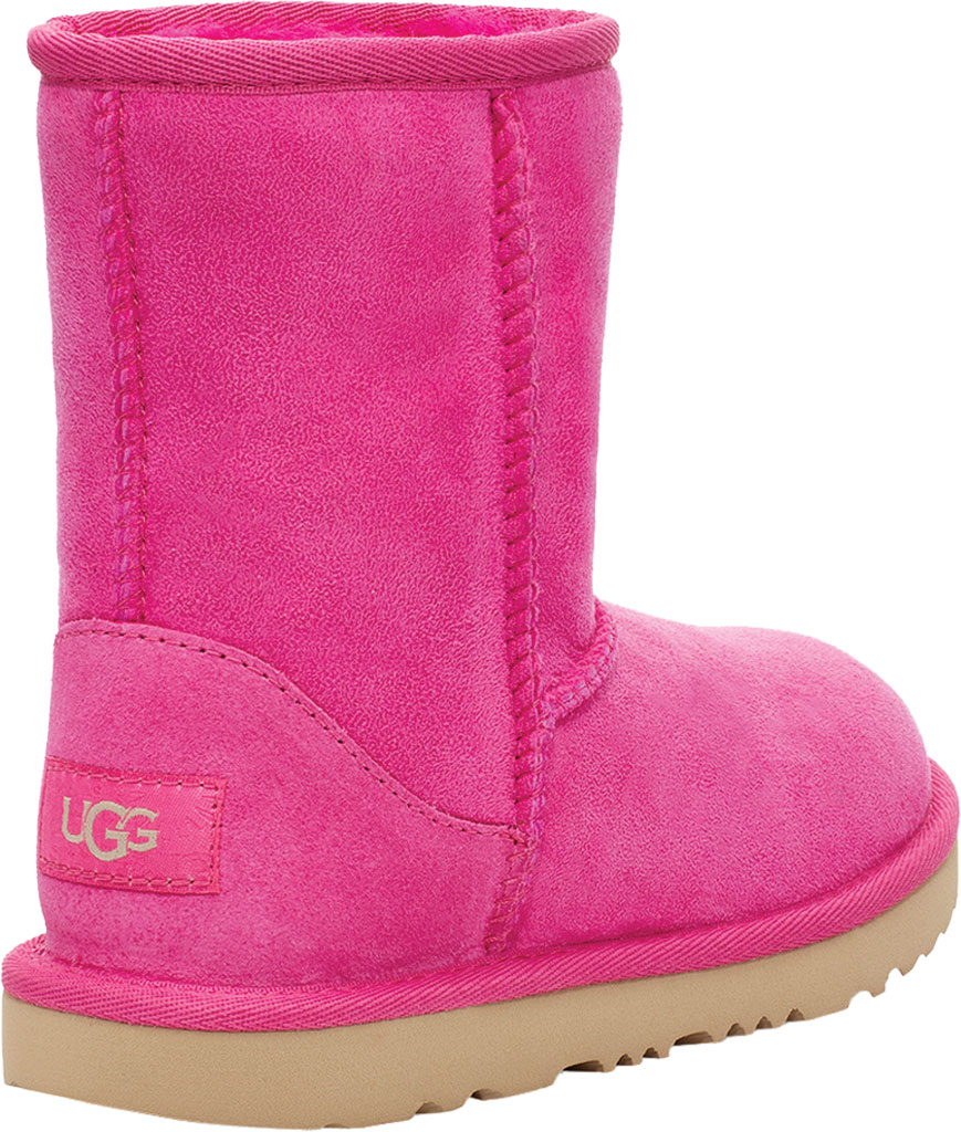 Infant UGG Classic II Toddlers Boot, Rock Rose Twinface Sheepskin, large, image 4