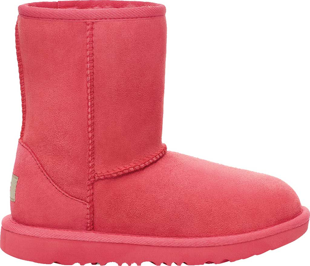 Infant UGG Classic II Toddlers Boot, Strawberry Sorbet Twinface Sheepskin, large, image 2