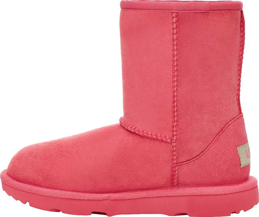 Infant UGG Classic II Toddlers Boot, Strawberry Sorbet Twinface Sheepskin, large, image 3