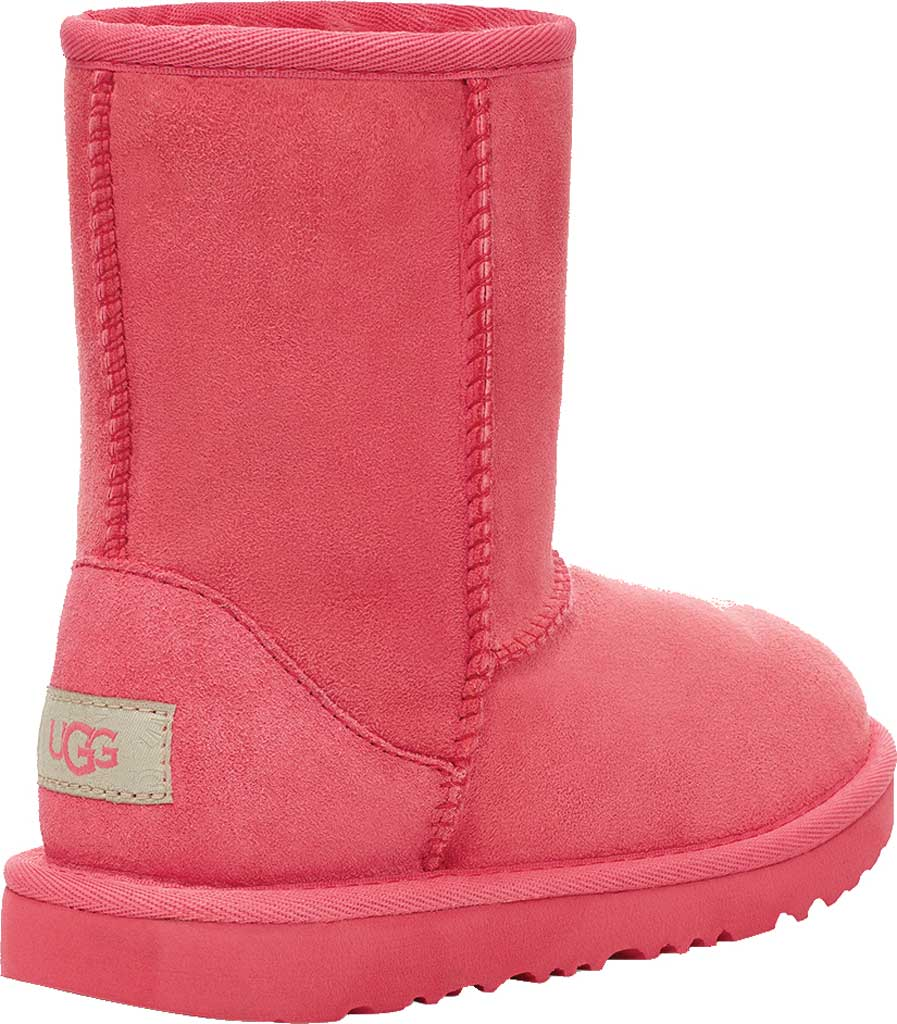 Infant UGG Classic II Toddlers Boot, Strawberry Sorbet Twinface Sheepskin, large, image 4