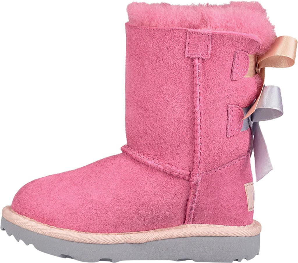 Infant UGG Bailey Bow II Toddlers Boot, Pink Azalea/Icelandic Blue Twinface, large, image 3