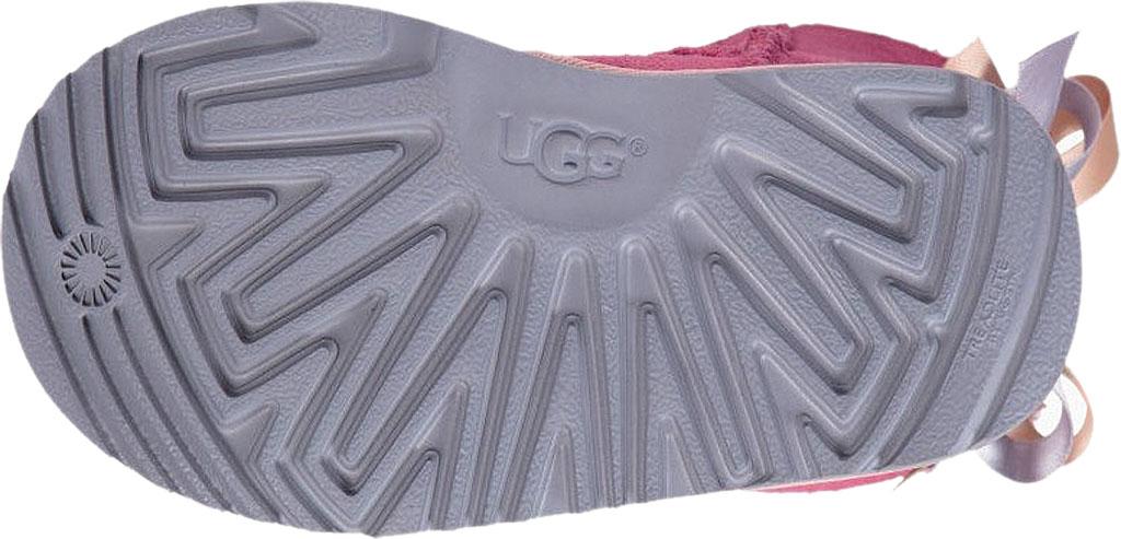 Infant UGG Bailey Bow II Toddlers Boot, Pink Azalea/Icelandic Blue Twinface, large, image 6