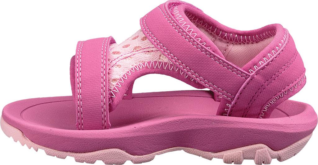 Infant Teva Psyclone XLT Walking Sandal, Pink Mesh, large, image 3