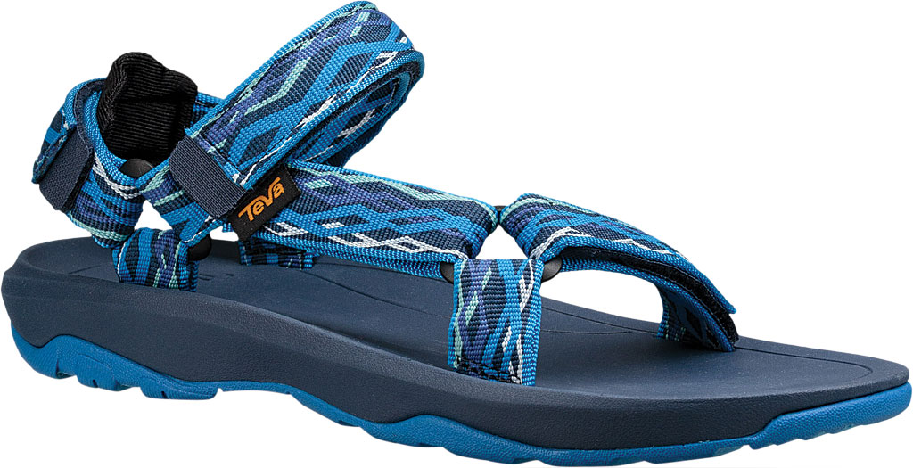 Children's Teva Hurricane XLT 2 Active Sandal Big Kid, Delmar Blue Textile, large, image 1