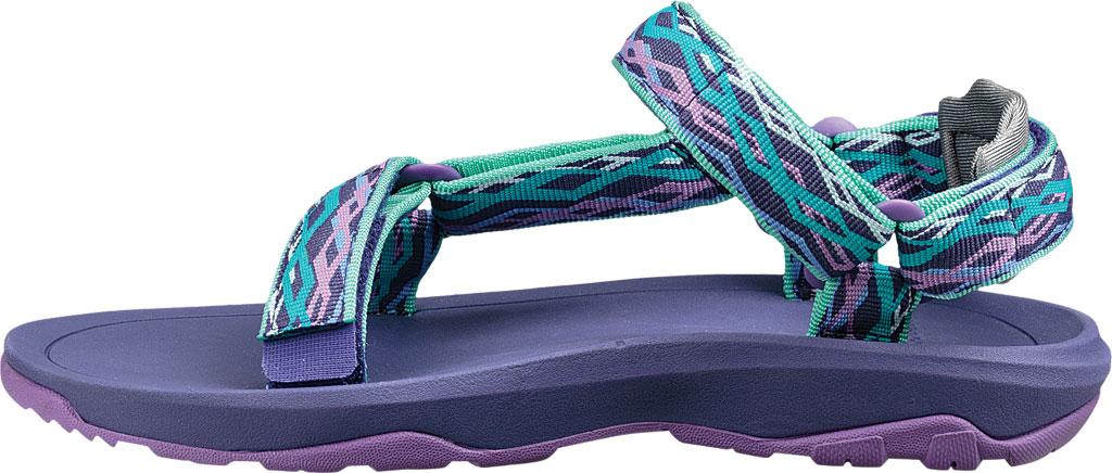 Children's Teva Hurricane XLT 2 Active Sandal Big Kid, Delmar Sea Glass/Purple Textile, large, image 3