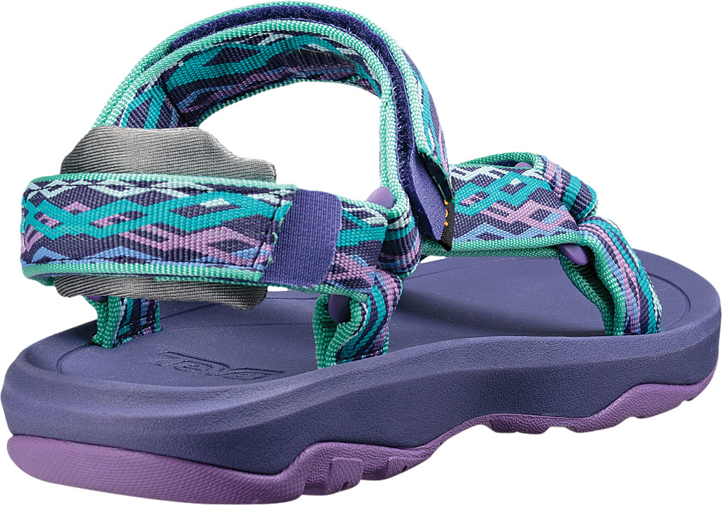 Children's Teva Hurricane XLT 2 Active Sandal Big Kid, Delmar Sea Glass/Purple Textile, large, image 4