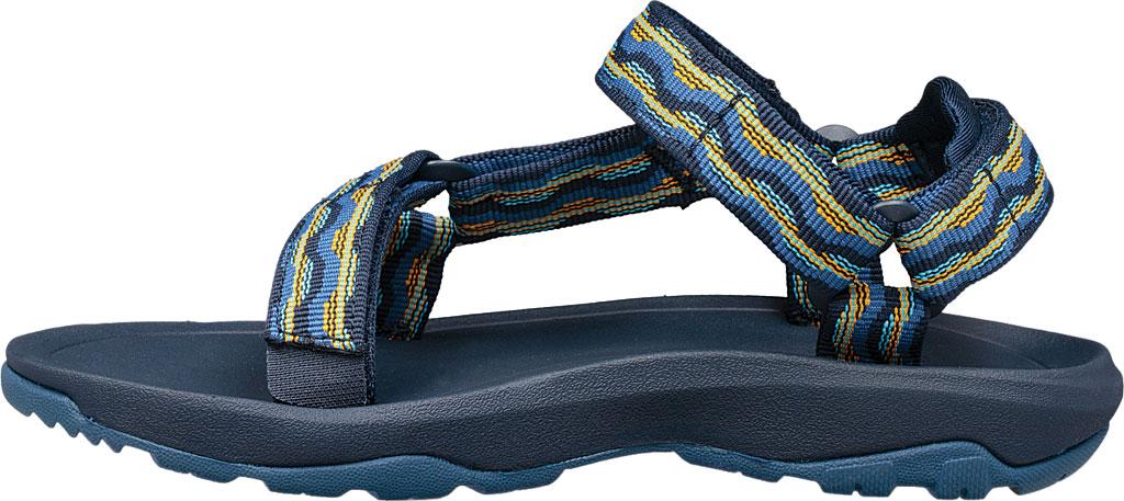 Children's Teva Hurricane XLT 2 Active Sandal Big Kid, Kishi Dark Blue Textile, large, image 3