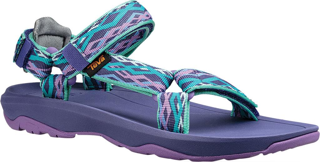 Children's Teva Hurricane XLT 2 Active Sandal Little Kid, Delmar Sea Glass/Purple Textile, large, image 1