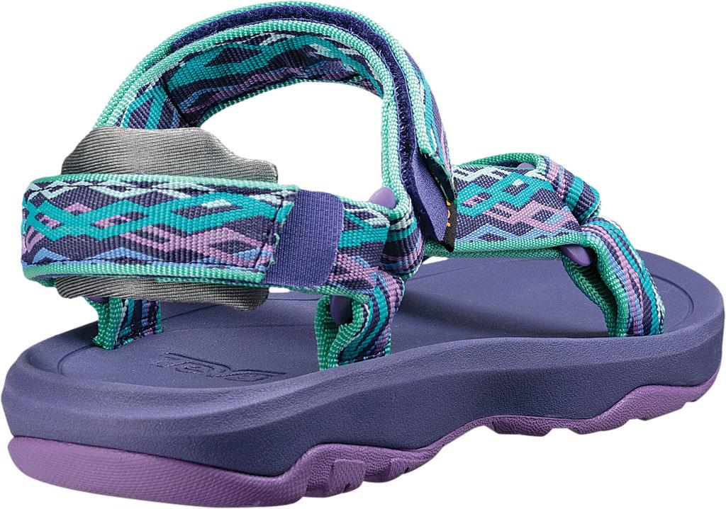 Children's Teva Hurricane XLT 2 Active Sandal Little Kid, Delmar Sea Glass/Purple Textile, large, image 4