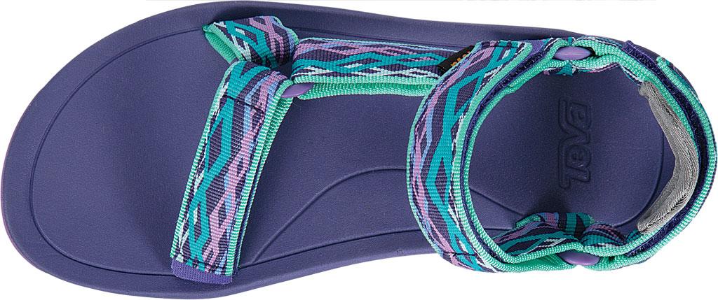 Children's Teva Hurricane XLT 2 Active Sandal Little Kid, Delmar Sea Glass/Purple Textile, large, image 5