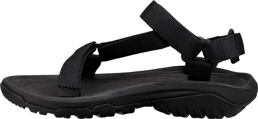 Women's Teva Hurricane XLT 2 Active Sandal, Black Textile, large, image 3