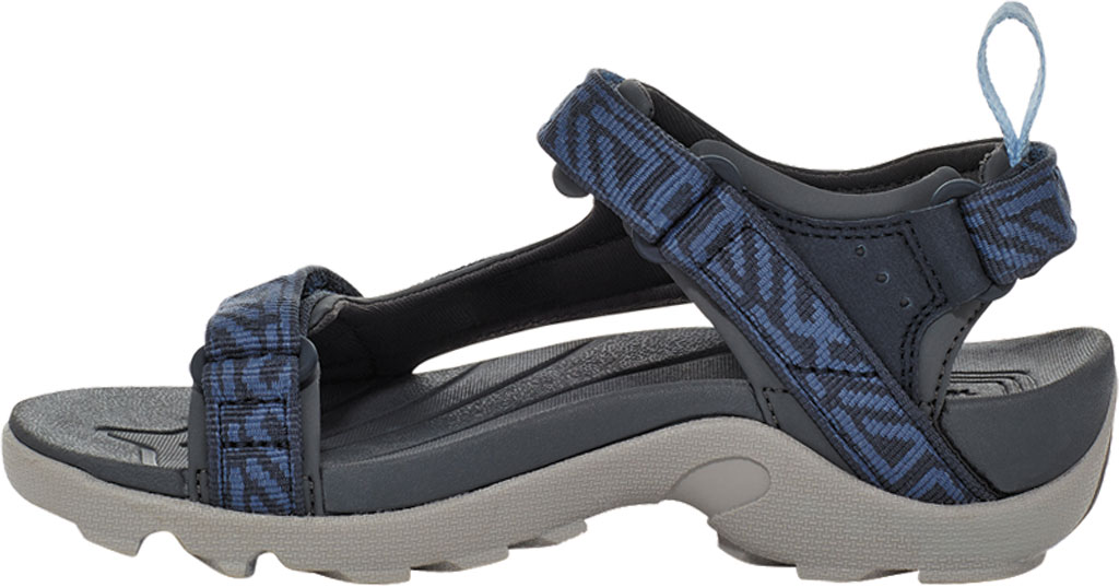 Children's Teva Tanza Strappy Sandal - Little Kid, Griffith Total Eclipse Textile/Synthetic, large, image 3