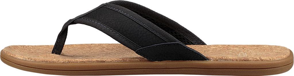 Men's UGG Seaside Flip Flop, Navy Leather, large, image 3