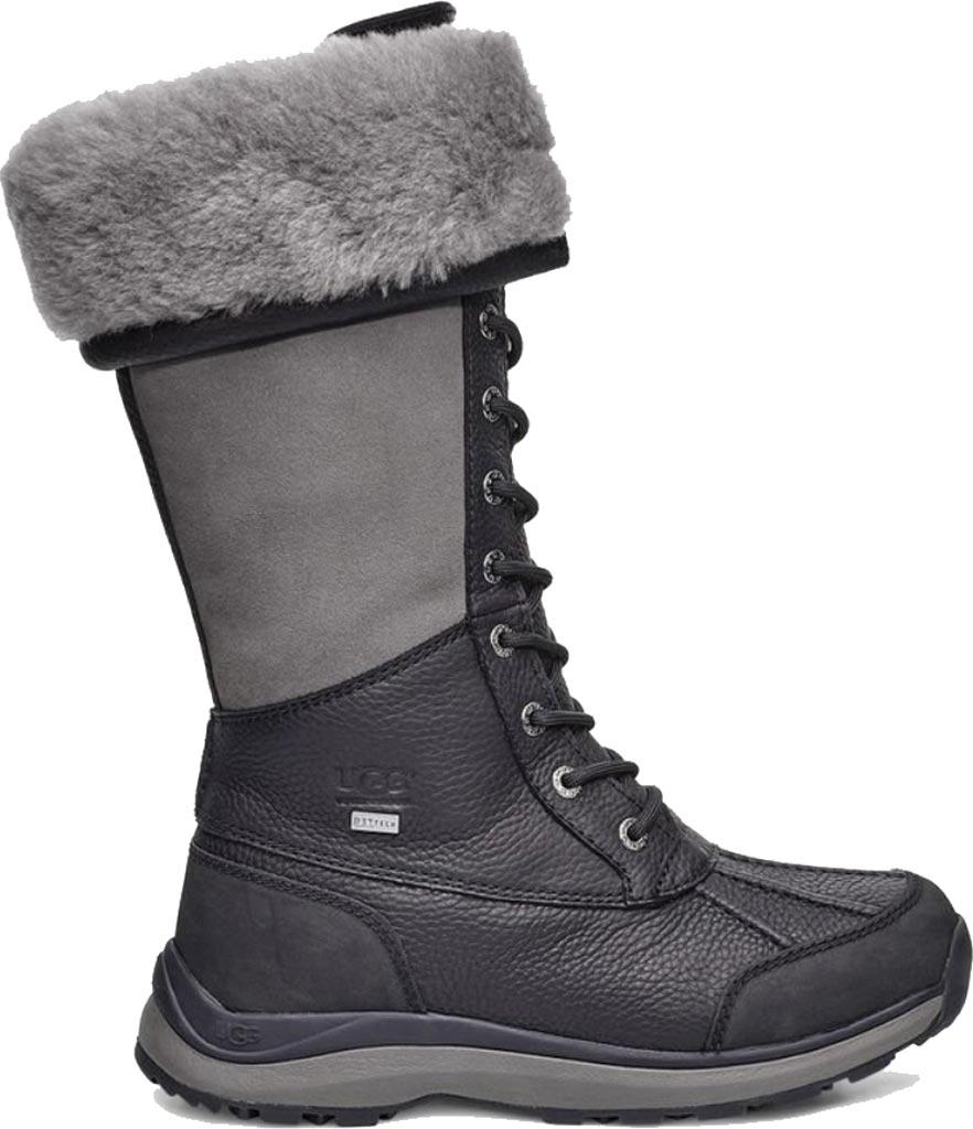 Women's UGG Adirondack Tall III Winter Boot, Black Leather, large, image 2