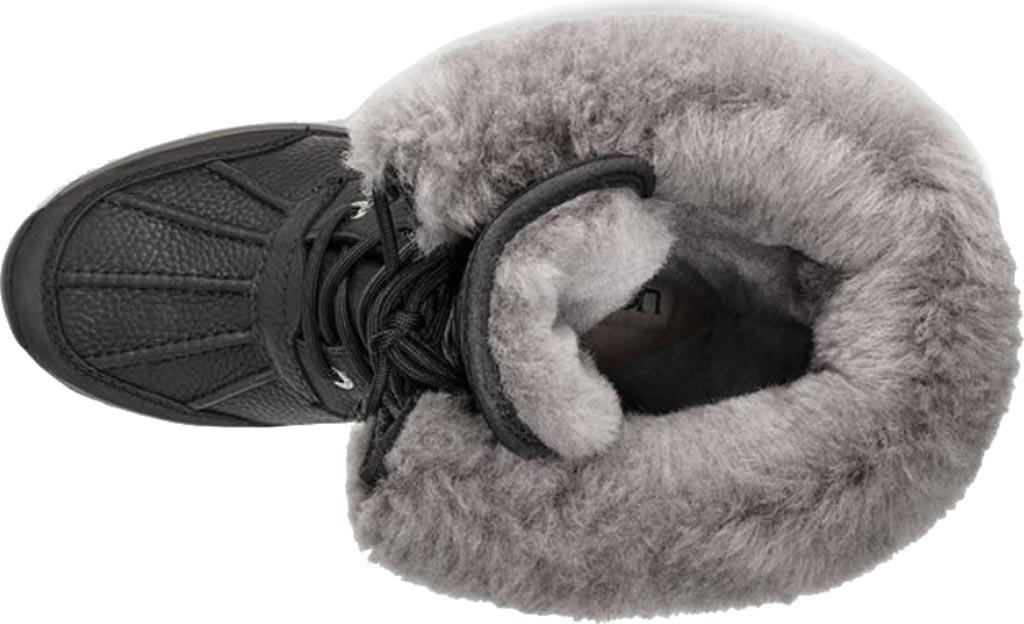 Women's UGG Adirondack Tall III Winter Boot, Black Leather, large, image 5