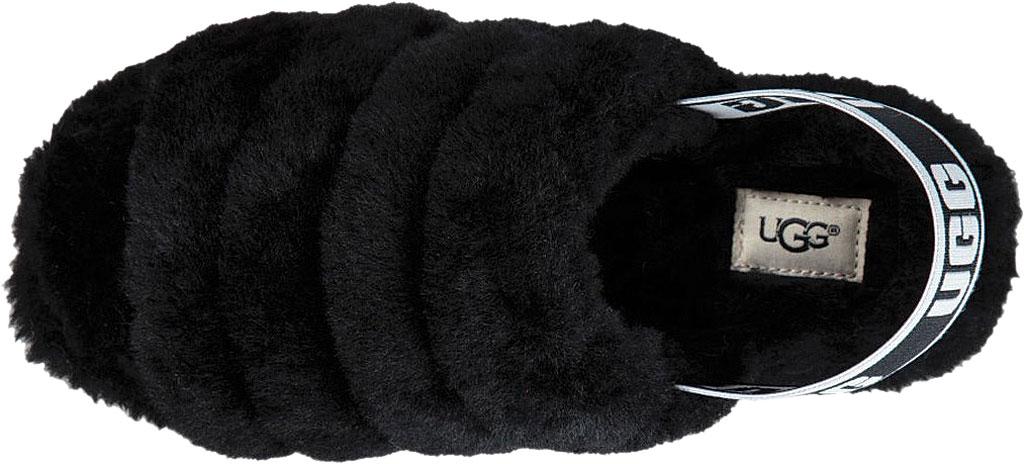 Women's UGG Fluff Slingback, Red Currant Sheepskin, large, image 5