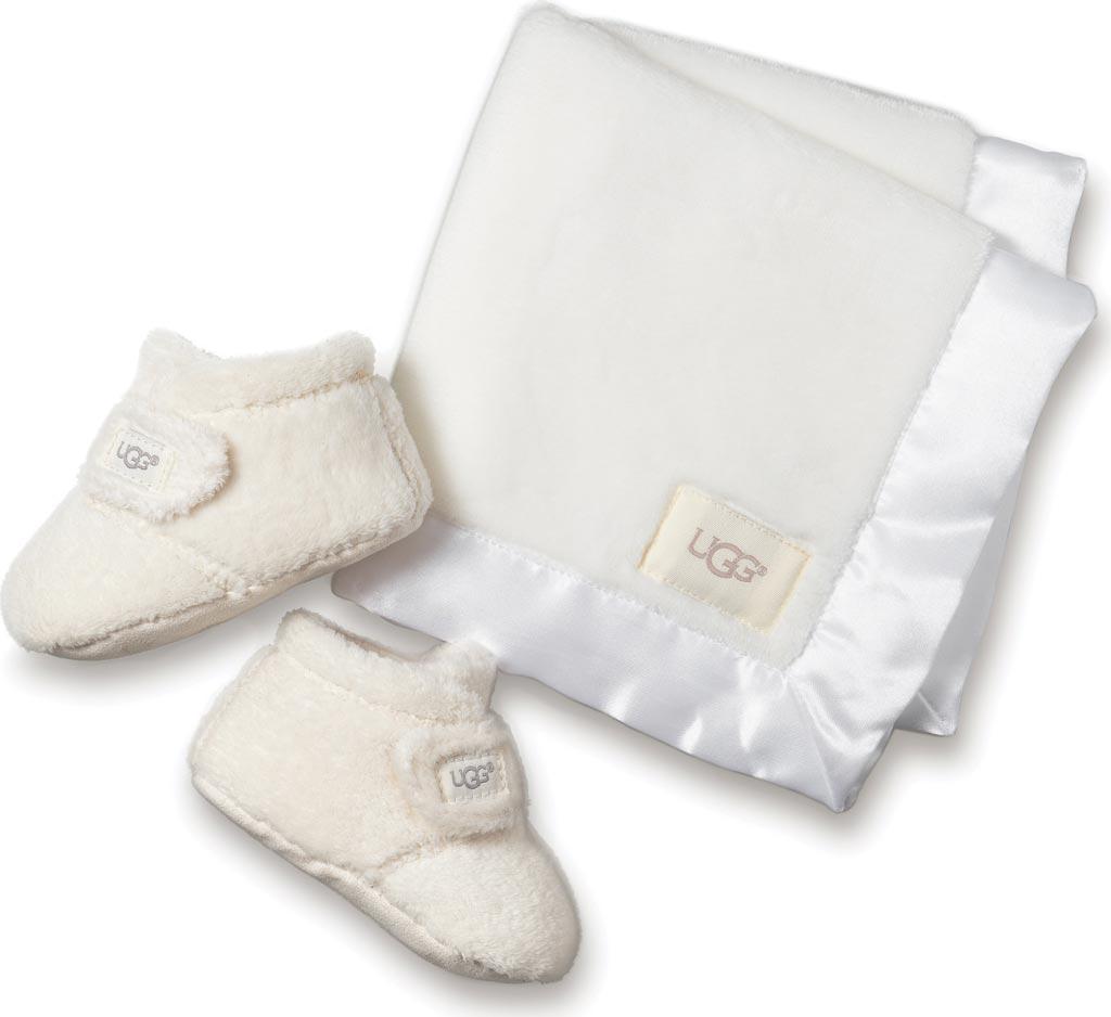 Infant UGG Bixbee and Lovey Gift Set, Vanilla Textile, large, image 1