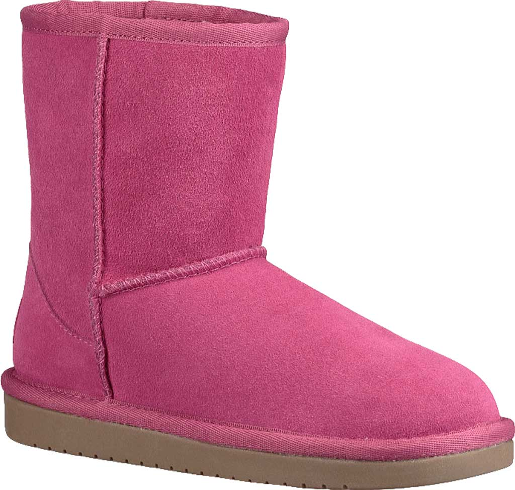 Girls' Koolaburra by UGG Koola Short Boot, Raspberry Rose Suede, large, image 1