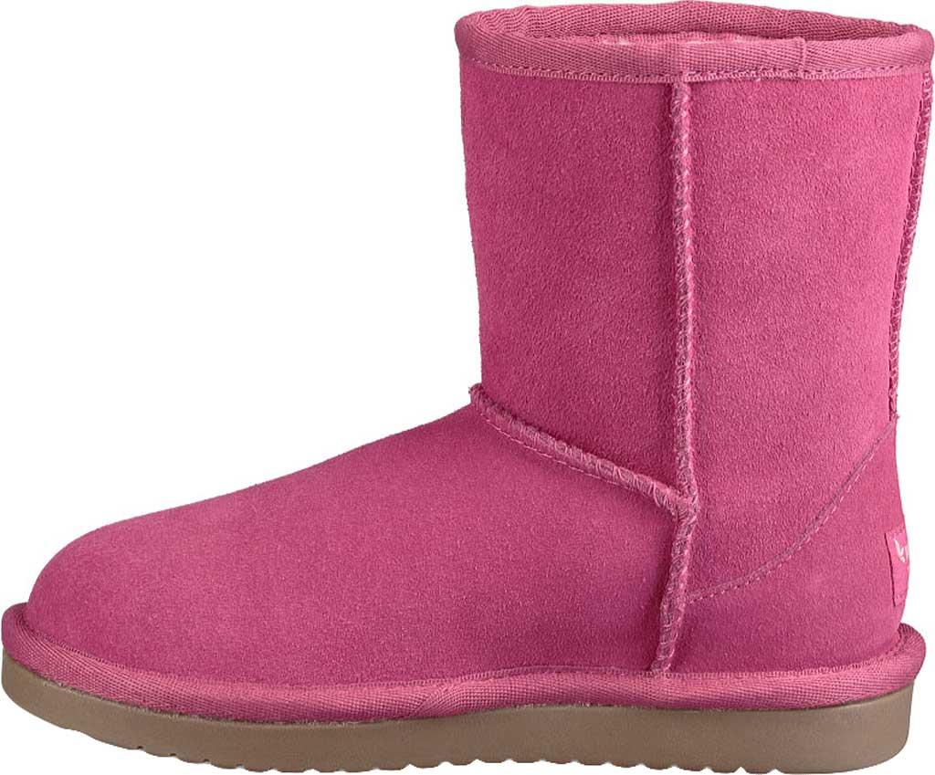 Girls' Koolaburra by UGG Koola Short Boot, Raspberry Rose Suede, large, image 2