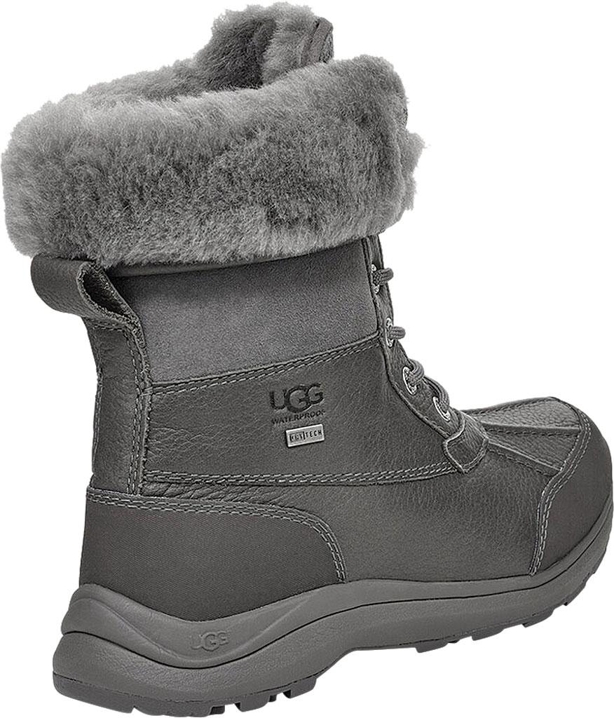 Women's UGG Adirondack III Winter Boot, Charcoal Leather, large, image 4